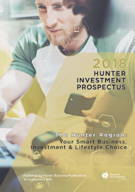 2018 Hunter Investment Prospectus cover web