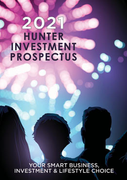 2021 Hunter Investment Prospectus Cover Archive