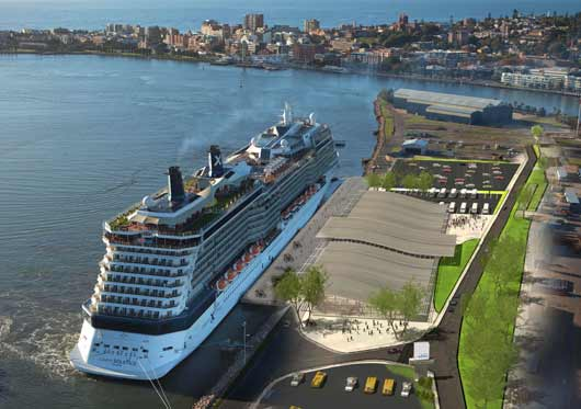 Cruise Terminal Concept Visualisation
