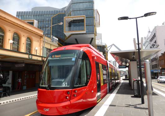 Newcastle light rail