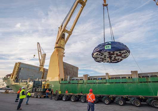 Port of Newcastle handled tunnel boring