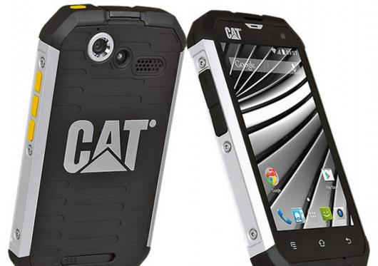 CAT rugged smartphone