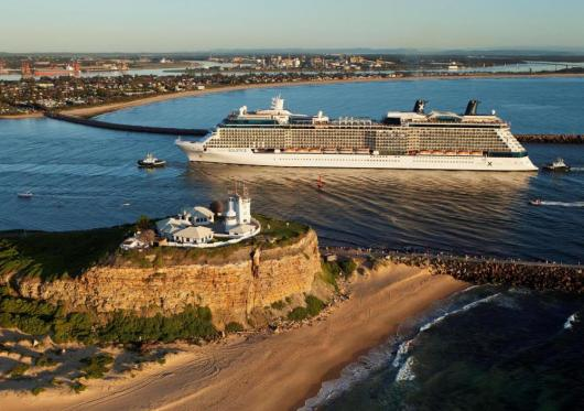 Celebrity Solstice 2014 Newcastle