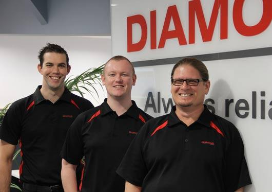 Diamond ICT Technology Optimisation team Colour