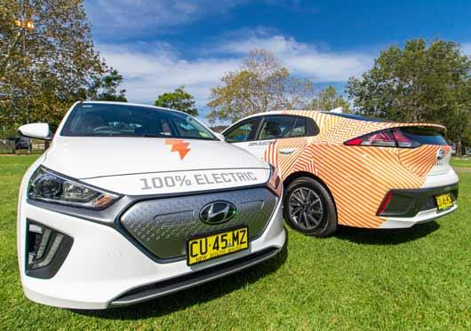 Lake Macquarie City Councils new Ioniq EVs