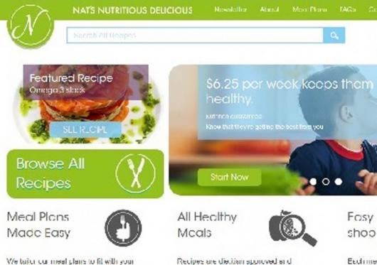 Nats Nutrious Website