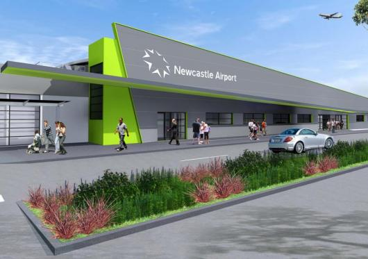 Newcastle Airport web