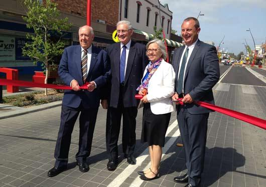 Official Opening of John Street