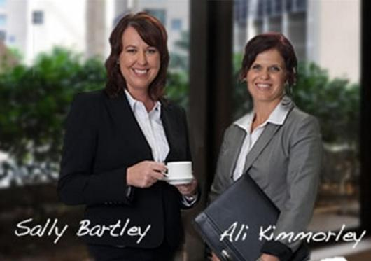 Sally Bartley and Ali Kimmorley