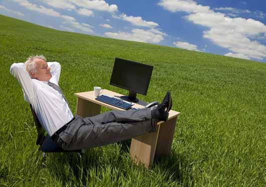 dreamstime s 9638033 Relaxing man